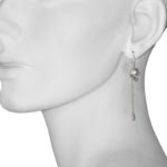 earring skull half model