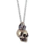 skull crown bronze side