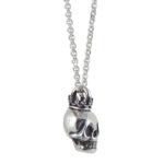 skull crown silver side