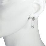 skull safety pin model
