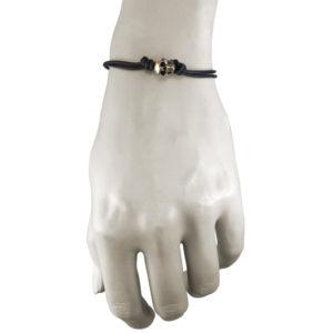 bronze skull bone bracelet